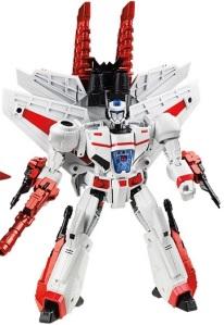 White Robot Toy