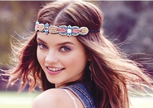 Jewel-toned headband