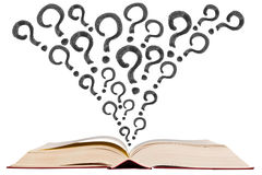 open-text-book-question-mark-pen-drawing-icon-white-background-30529978